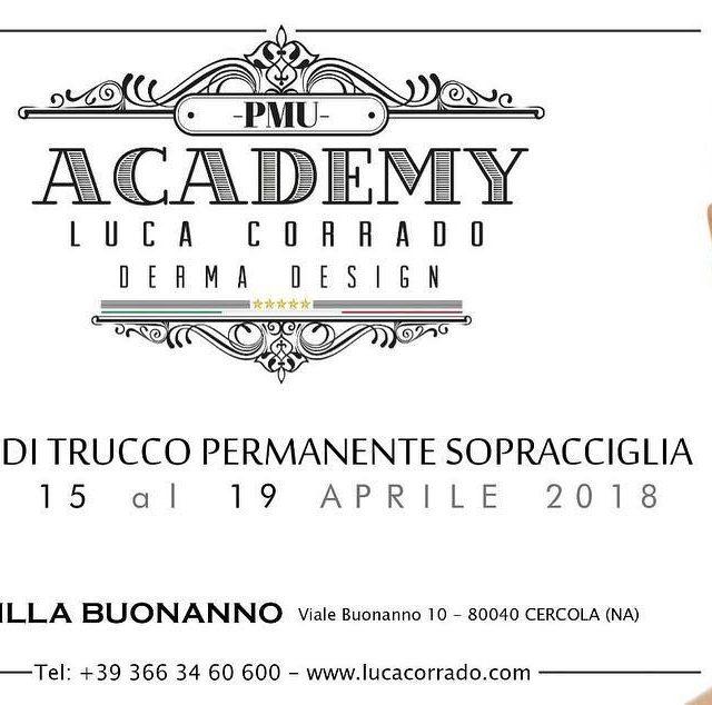 Corso Professionale di Trucco Permanente Dal 15 al 19 aprilehellip